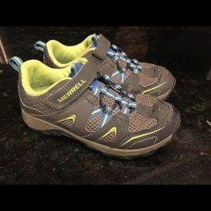 Merrel Boys Trail Chaser gray/ blue